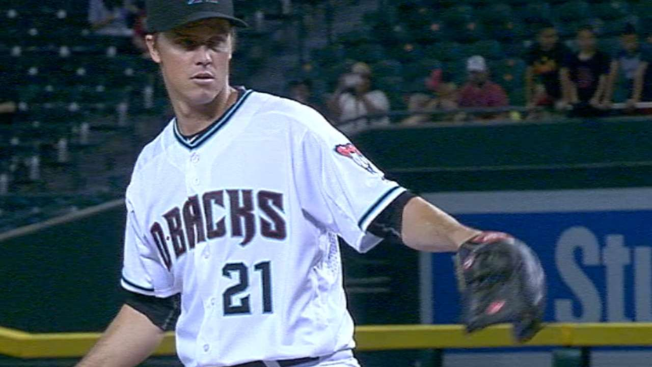 Greinke's three-hit shutout