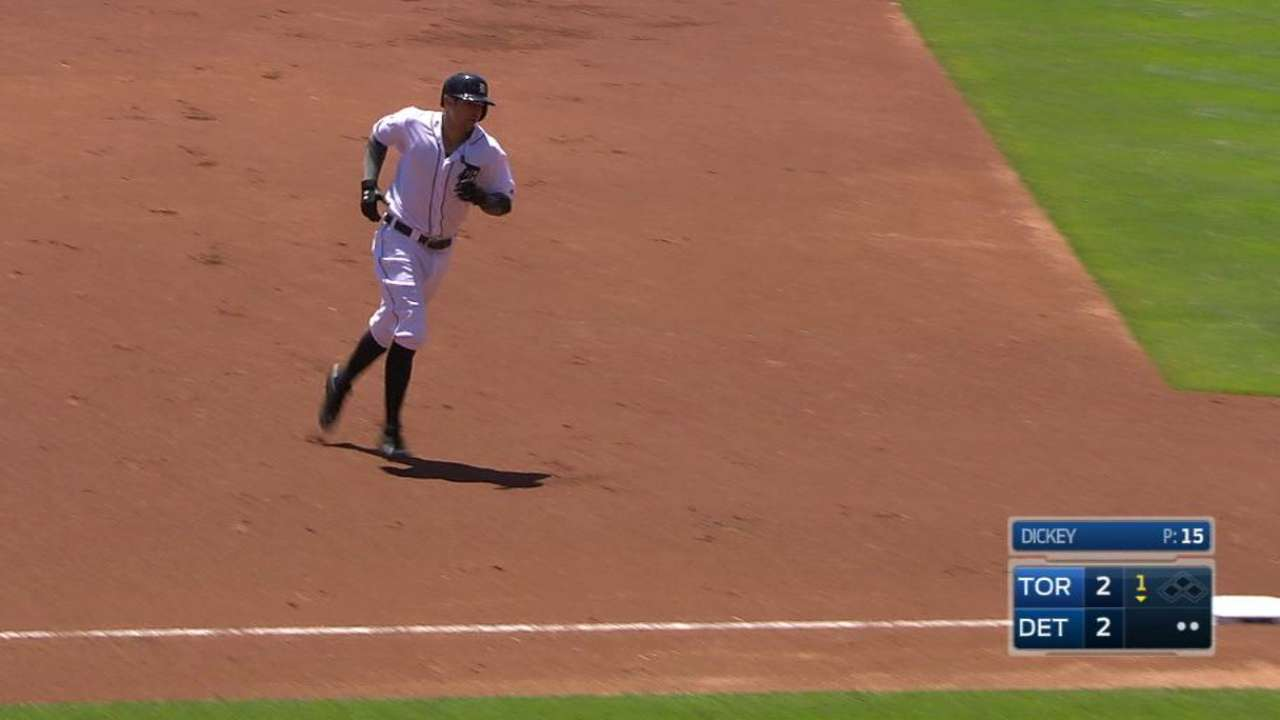 Castellanos' two-run jack