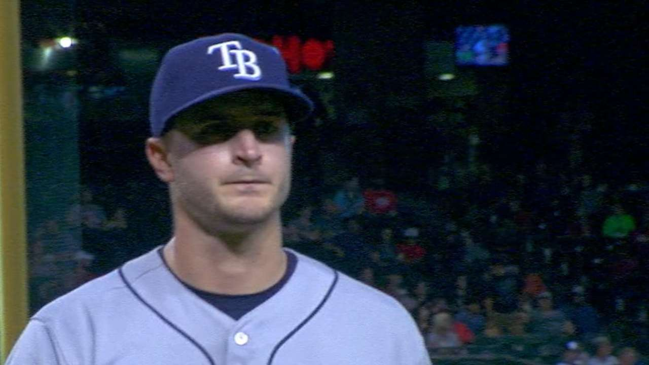 Odorizzi strikes out eight