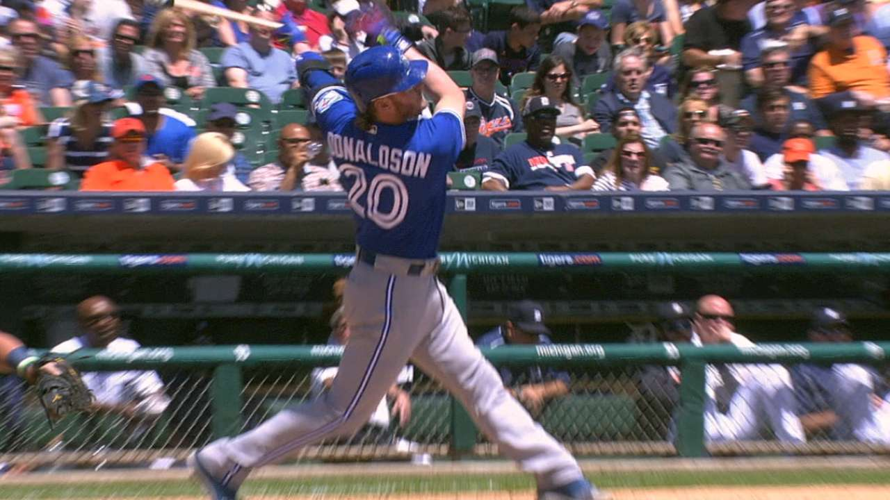 Donaldson shows MVP form at plate, in field