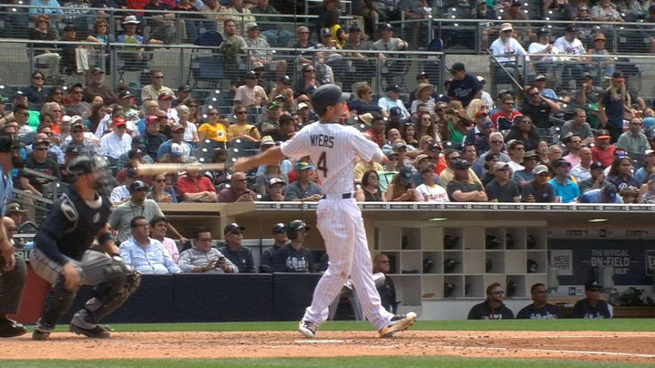 Myers launches two home runs