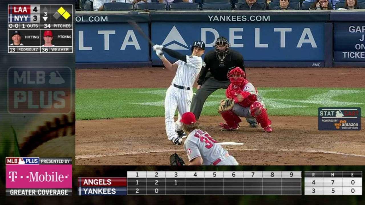 MLB Plus: Ellsbury's home run
