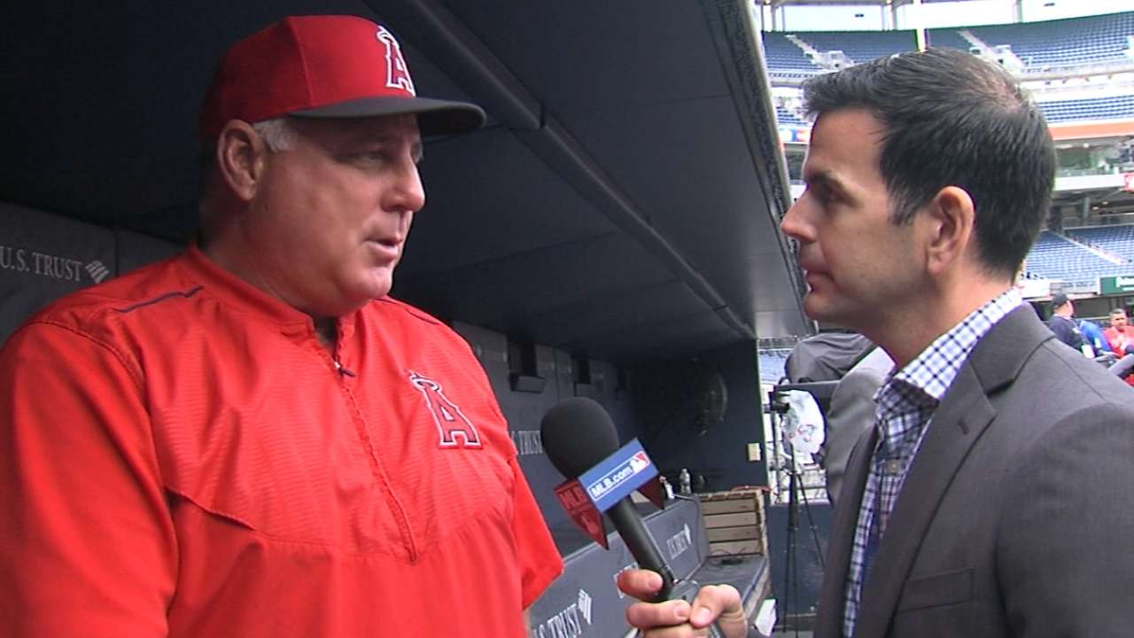 Scioscia ready to manage Angels for years to come