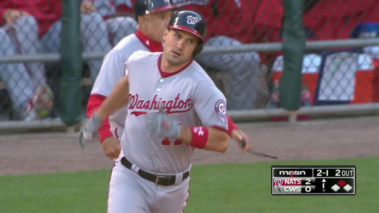 Nationals knock out Shields early, rout White Sox