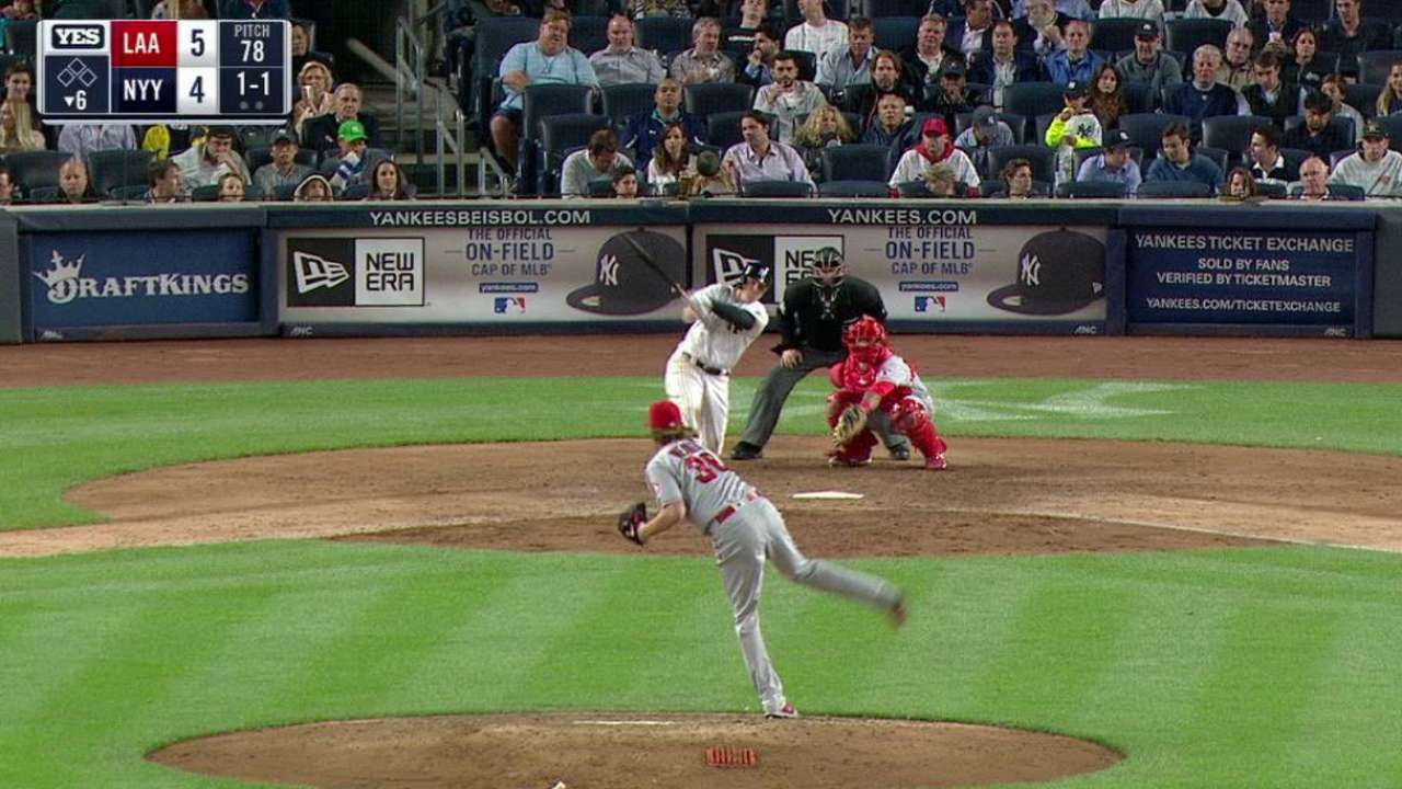 Parmelee's solo homer