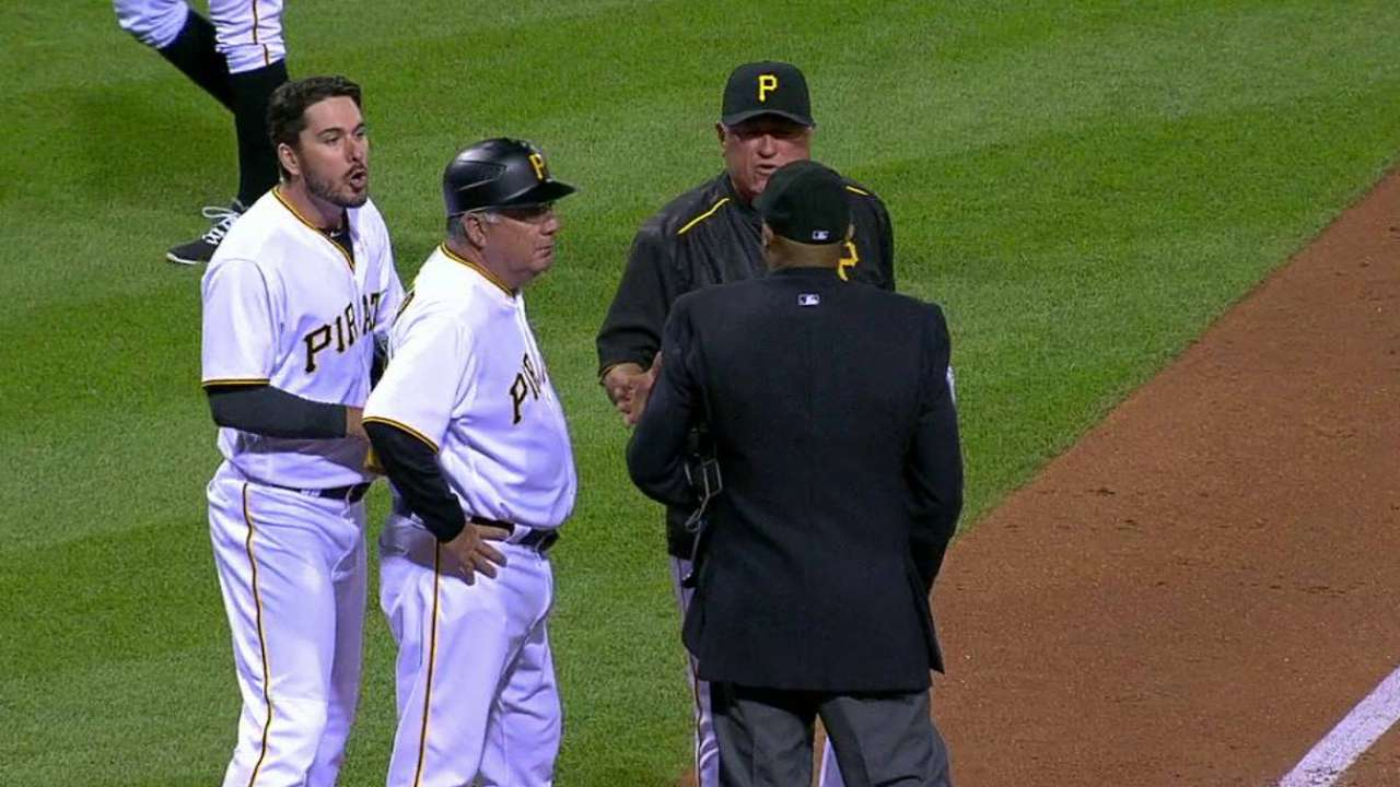 Joyce's ejection in the 7th