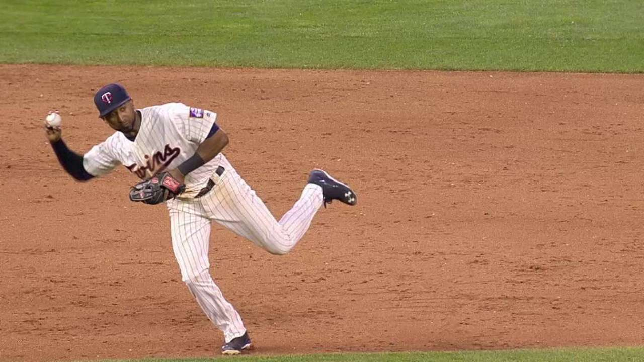 May escapes bases-loaded jam
