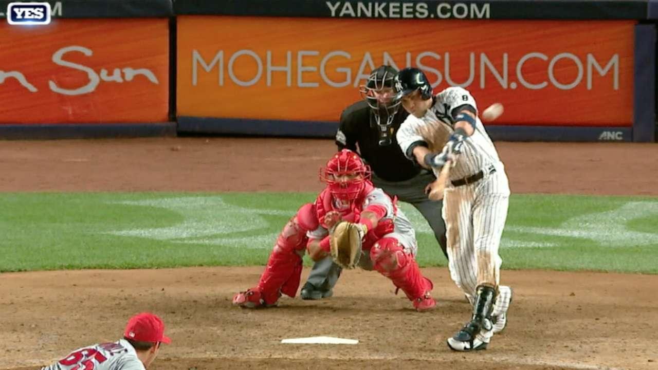 Yankees' four-homer game