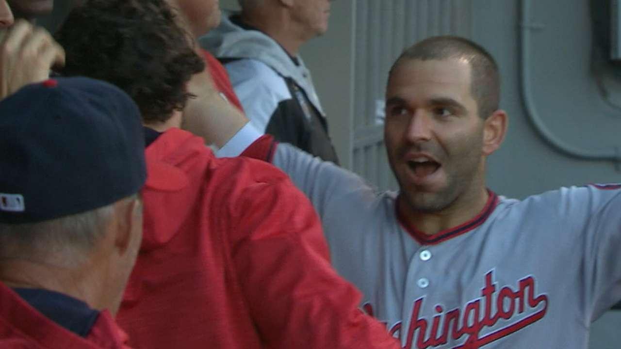 Nats swat four homers vs. Sox