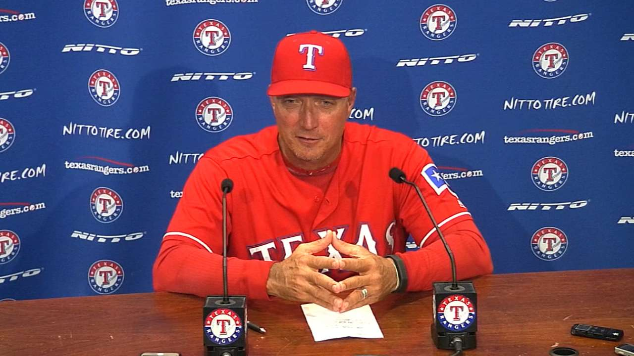 Banister on Darvish's outing