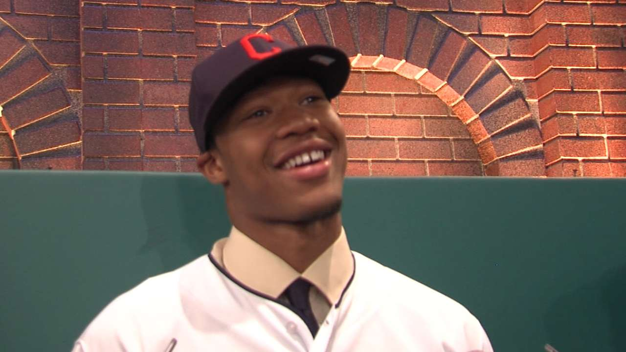 First pick sets tone for rest of Indians' Draft