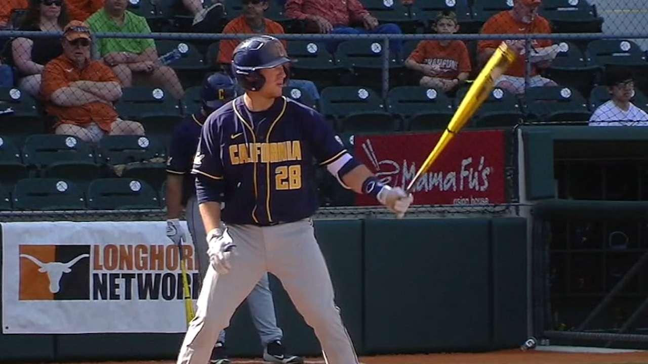 Catcher Cumberland brings big bat to Braves