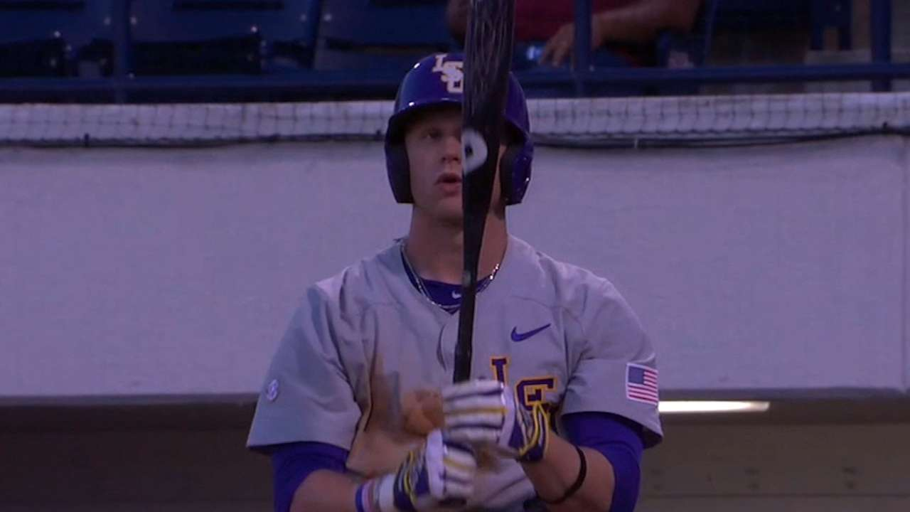 Fraley gives Rays another outfield link to LSU