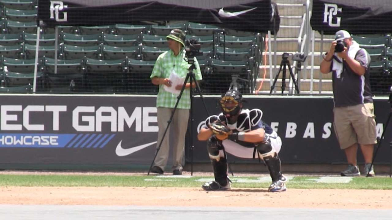 Crew selects Puerto Rican catching prospect