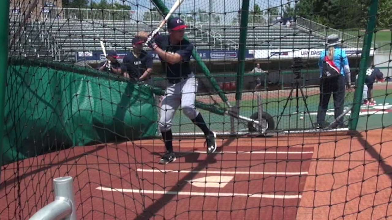 Hampson doesn't fit profile of 'Shortstop U'