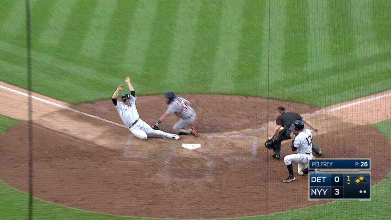 Tigers can't overcome first-inning troubles