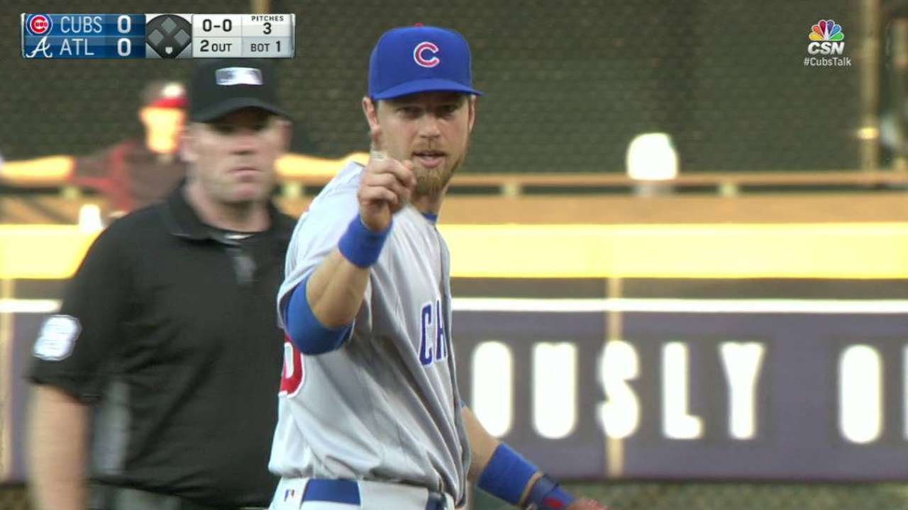 Zobrist's nice leaping grab