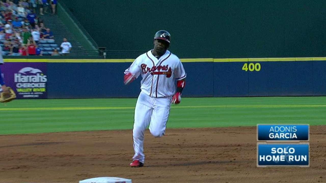 A. Garcia's solo home run