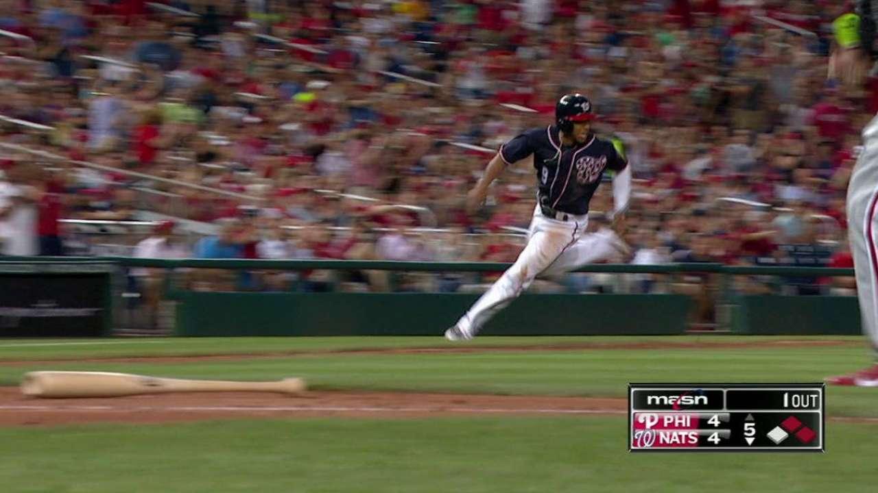 Murphy's two-run double