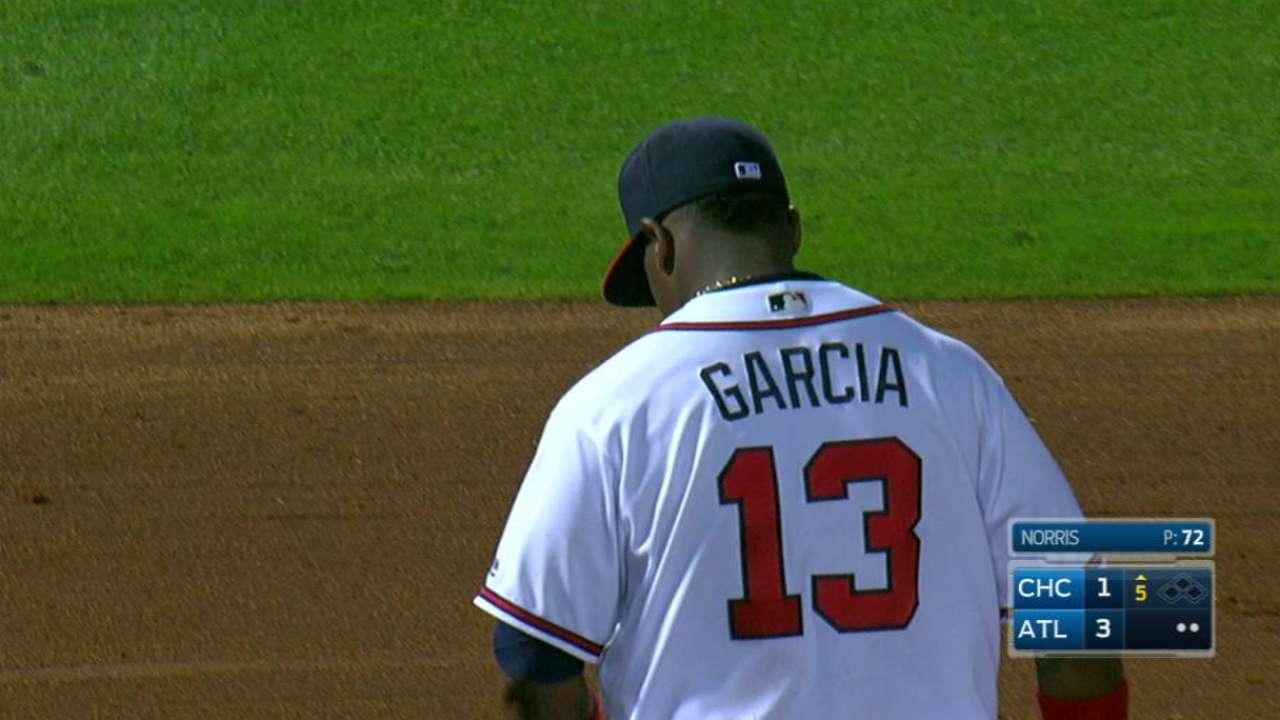 Hard work paying off for Garcia at hot corner