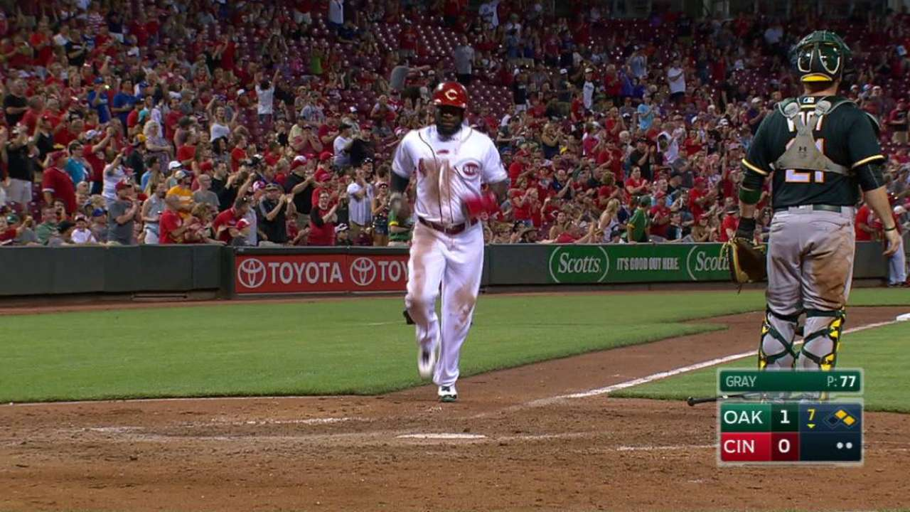 Duvall's game-tying double