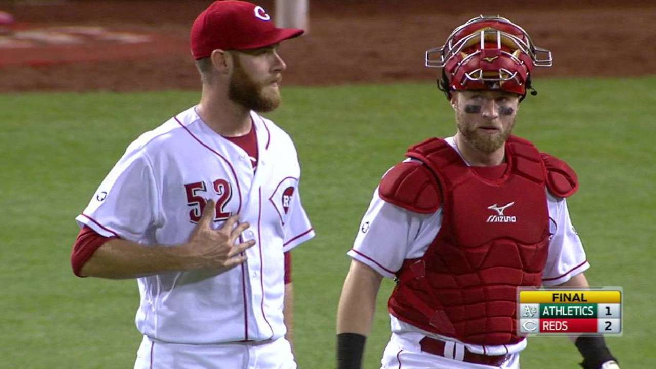 Reds turn two for the win