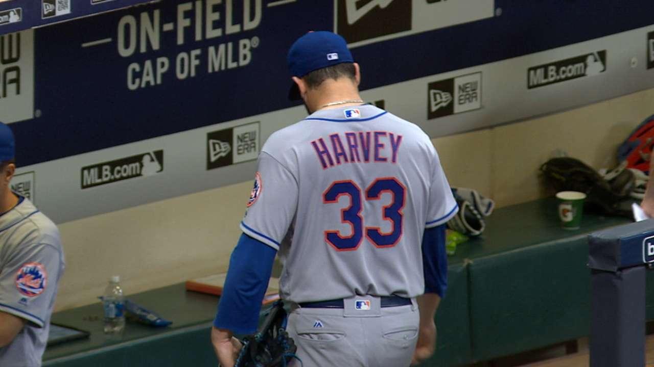 Harvey fans eight over six