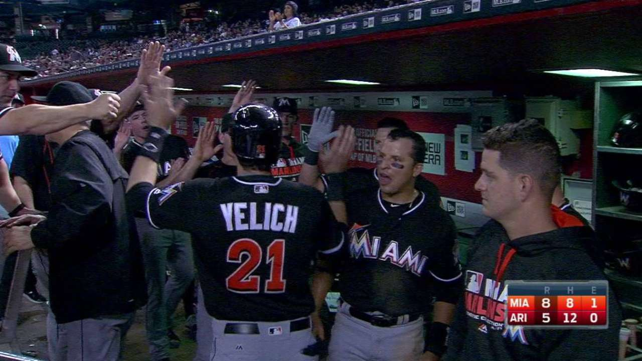 Ozuna's RBI single
