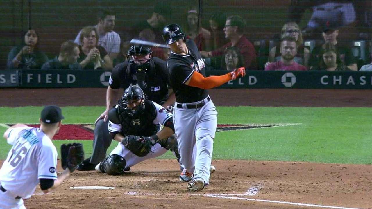 Corbin strikes out Stanton