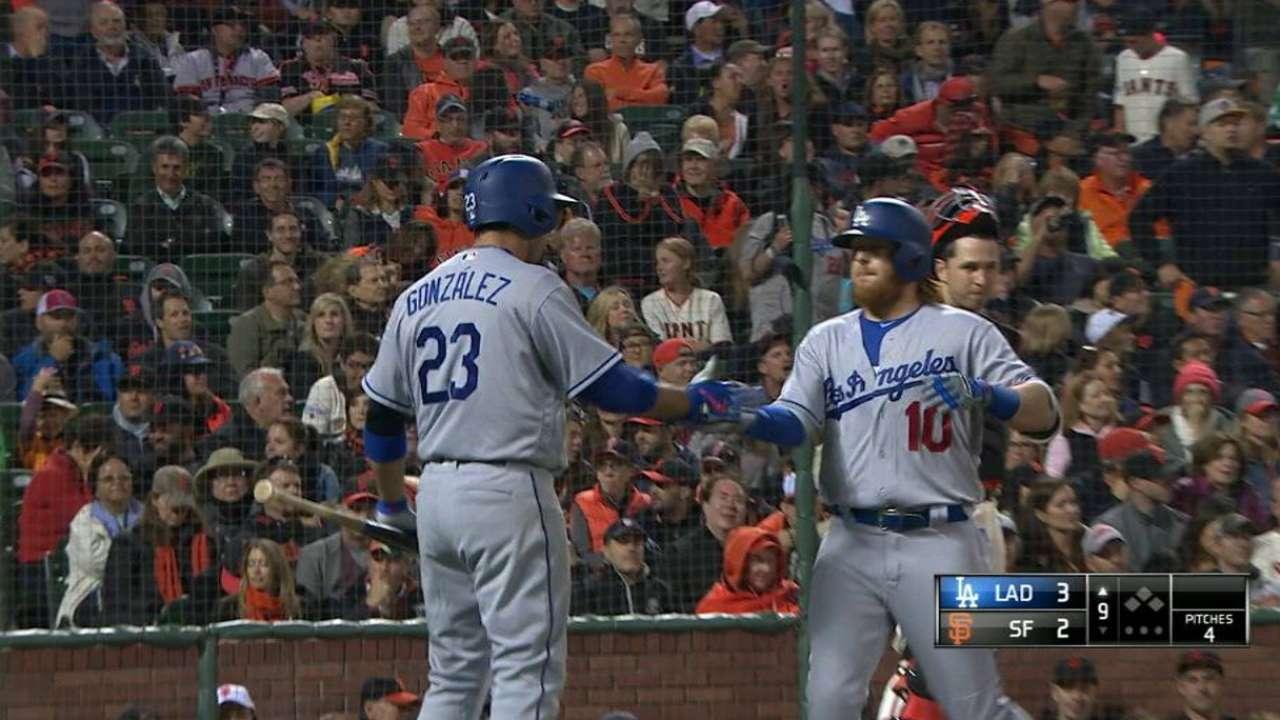 Dodgers le pegan a Gigantes con otra joya de Kershaw