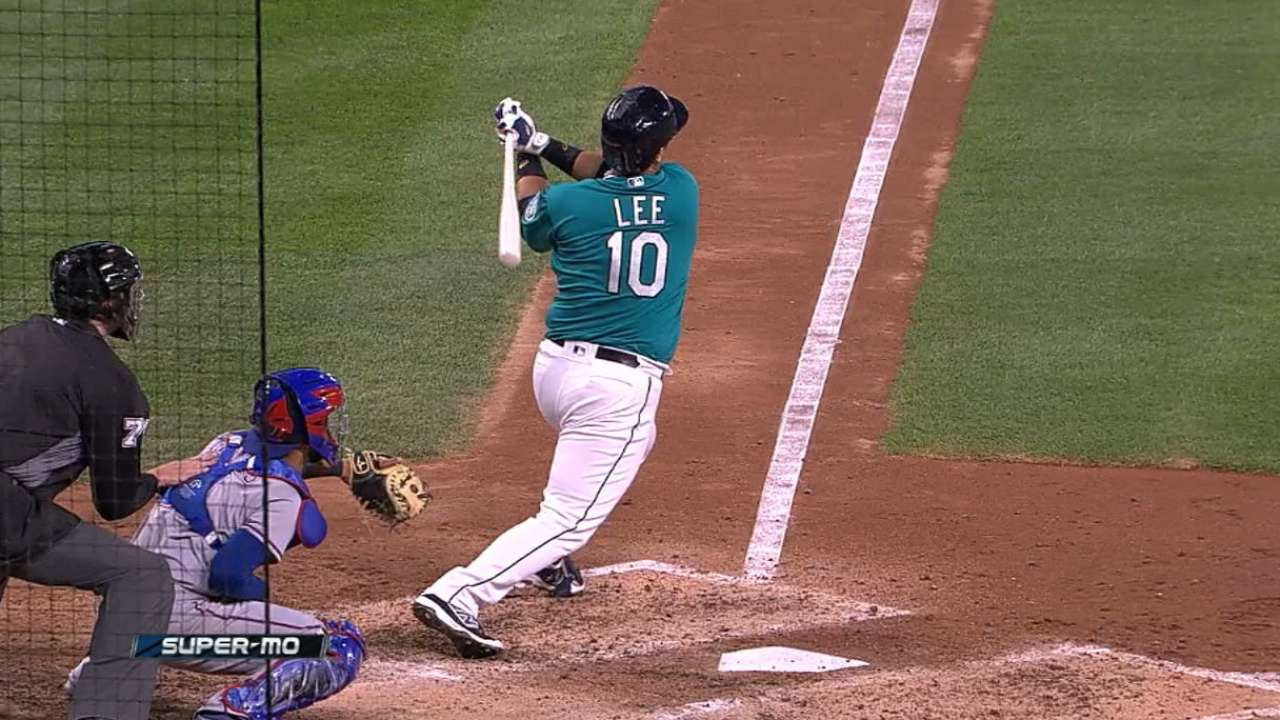 Beautiful Dae: Lee's two HRs lift Mariners