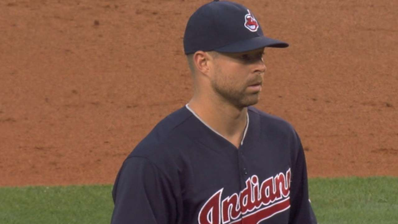 Kluber goes distance as Tribe rocks Angels