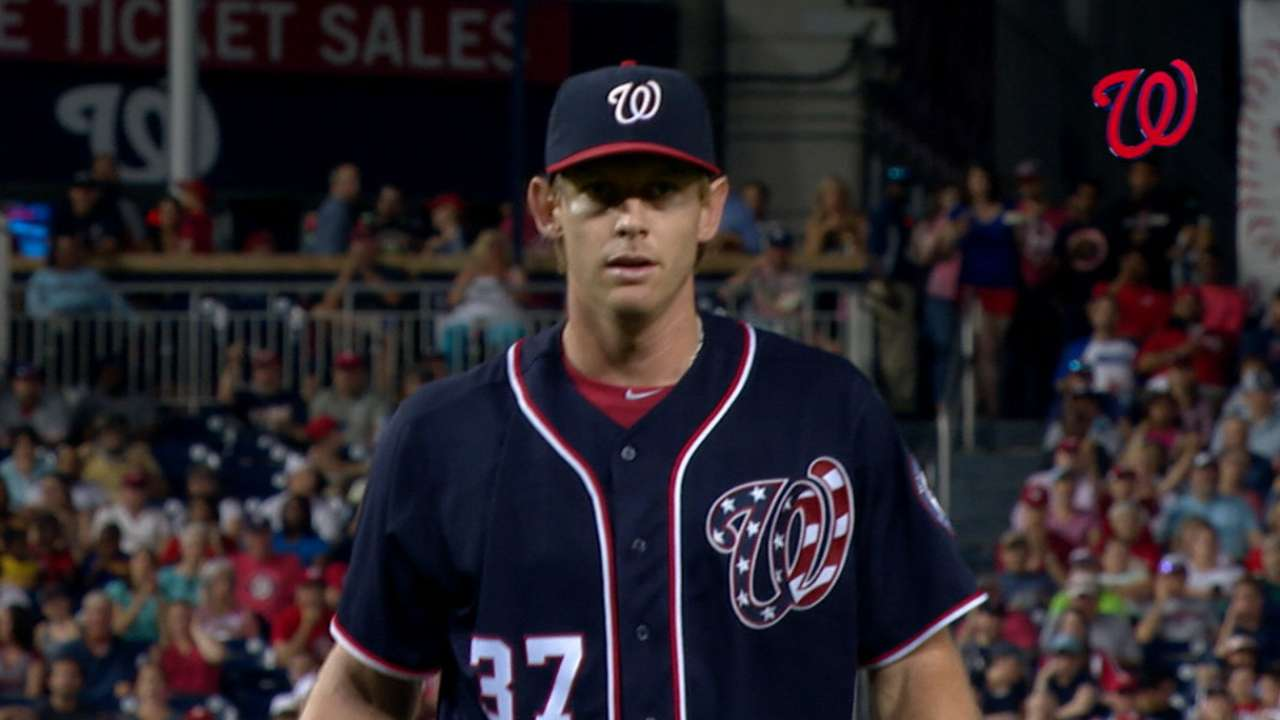 Strasburg eyes 11-0 today on MLB.TV