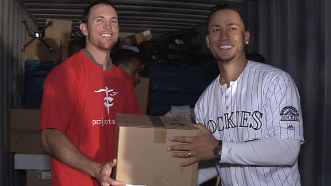 CarGo earns Clemente nomination for charitable work