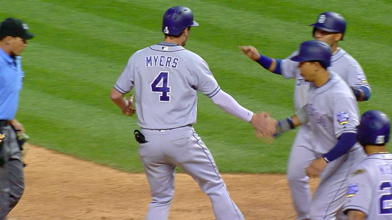 Must C: Myers' clutch homer