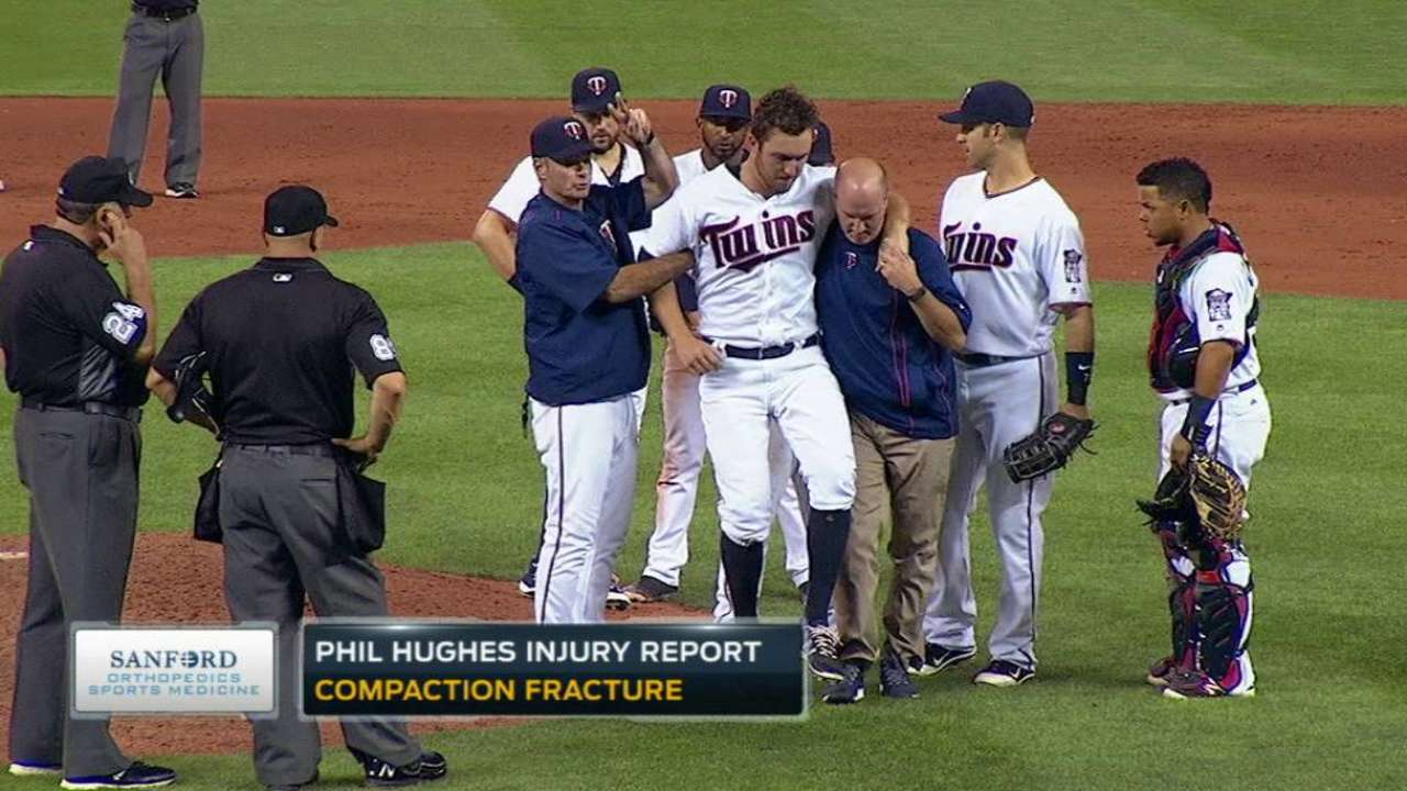 Hughes to undergo season-ending surgery