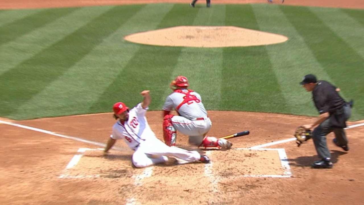 Nationals' four-run 2nd inning