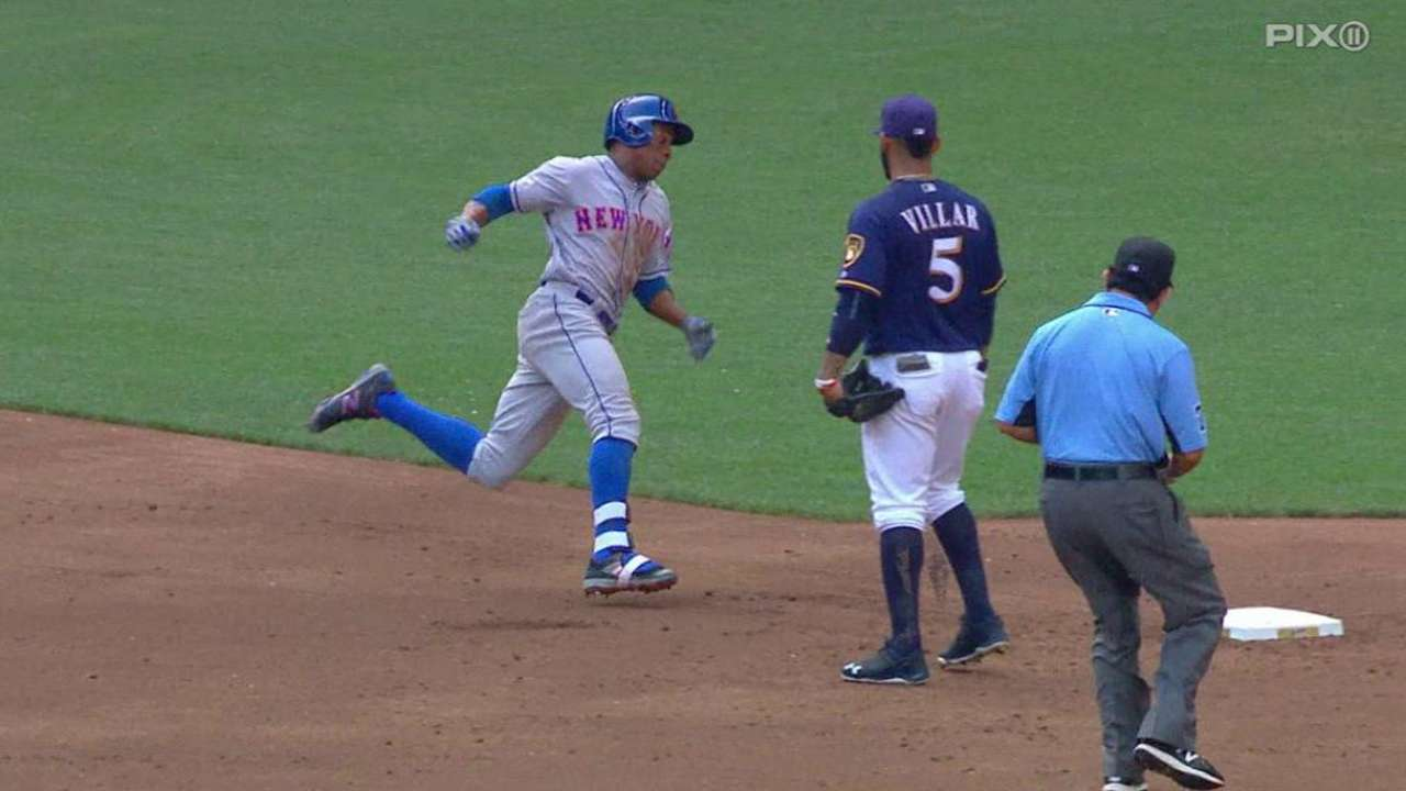 Granderson's long triple