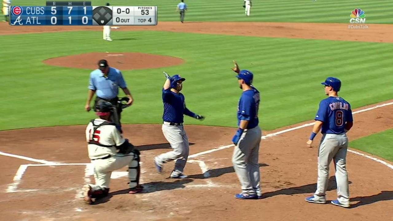 Montero's three-run home run
