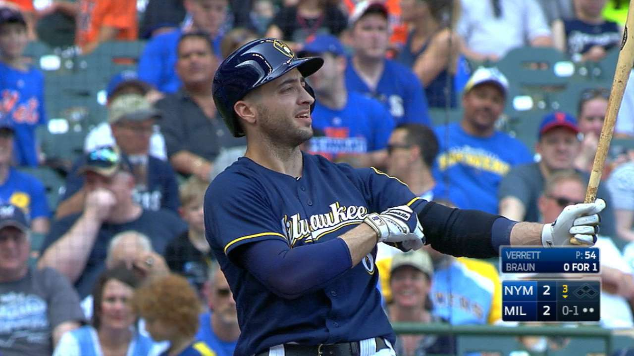 Braun's two homers