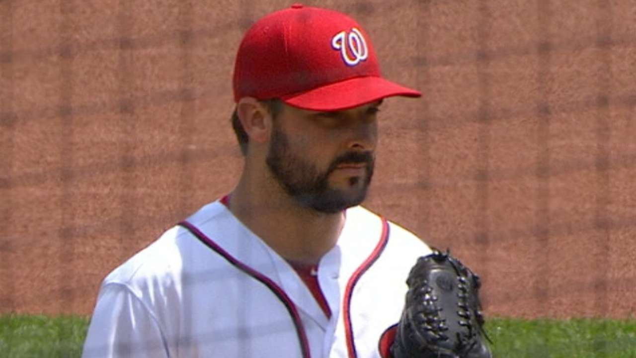 Roark bounces back with dominant outing