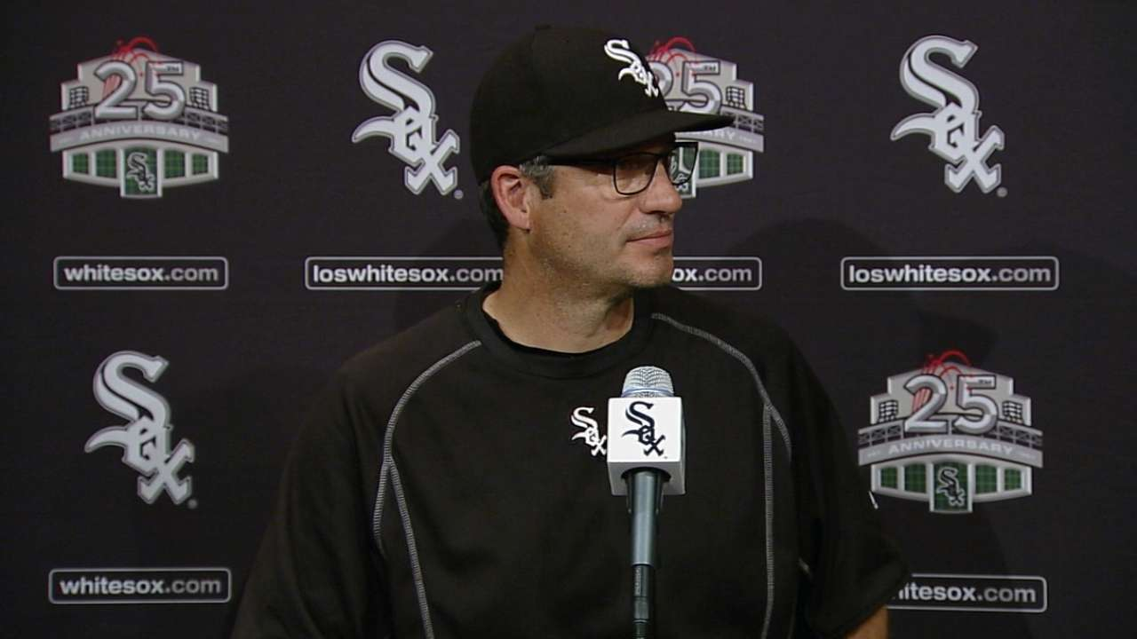 White Sox stall after early missed chance