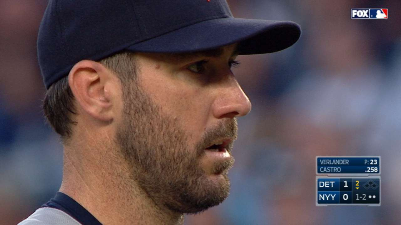 JV tops Tanaka, Kinsler has 5 RBIs in win