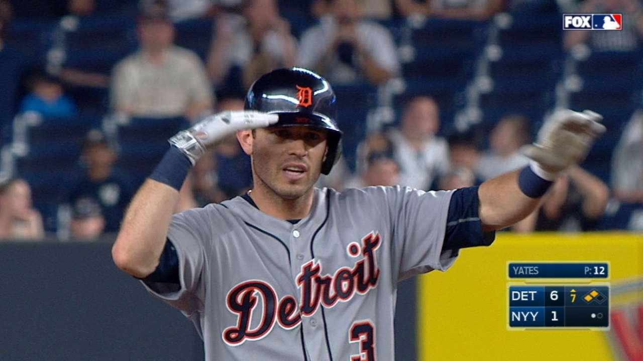 Kinsler's five-RBI game