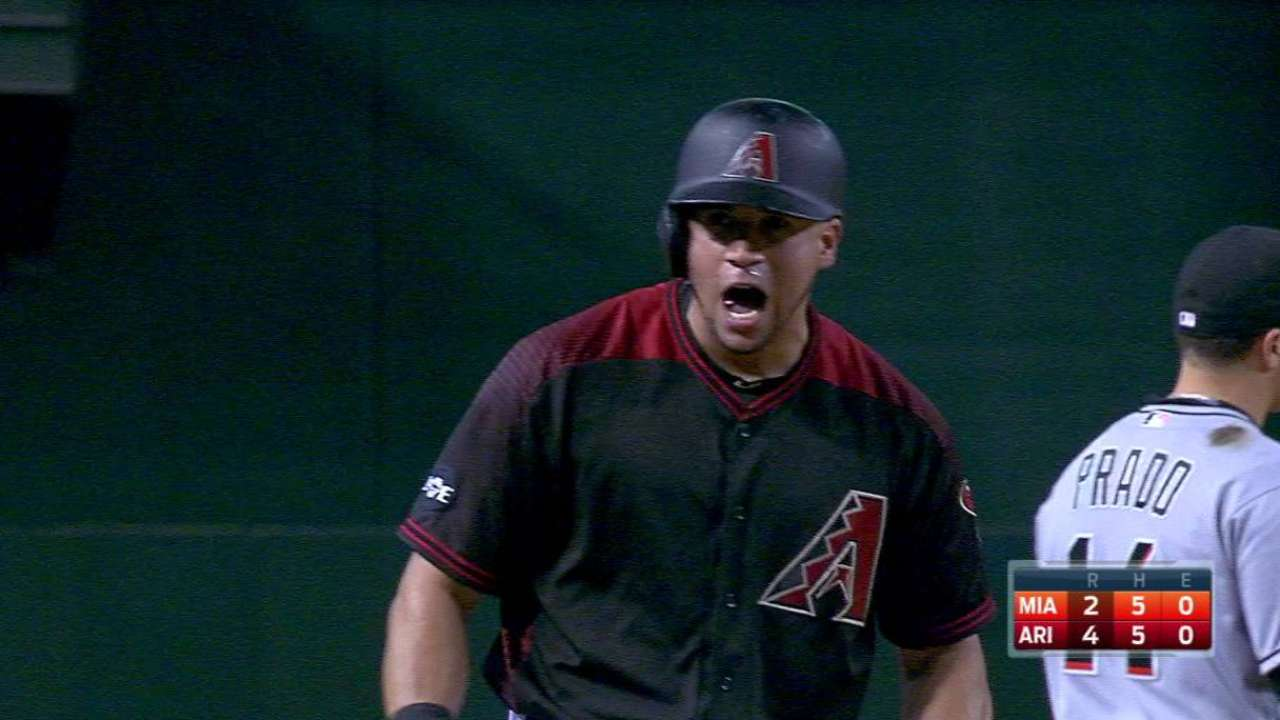 Peralta's RBI triple