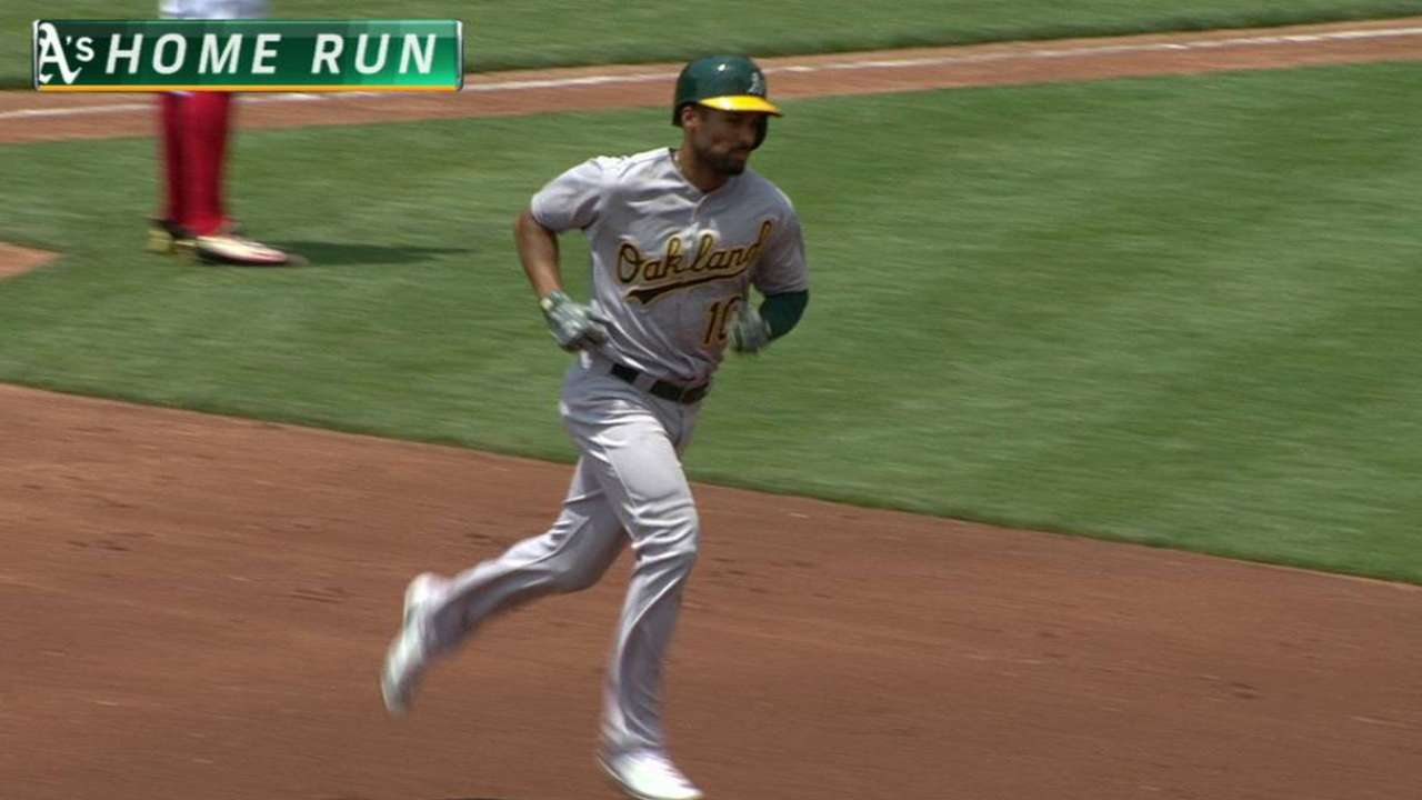 Semien's two-run shot