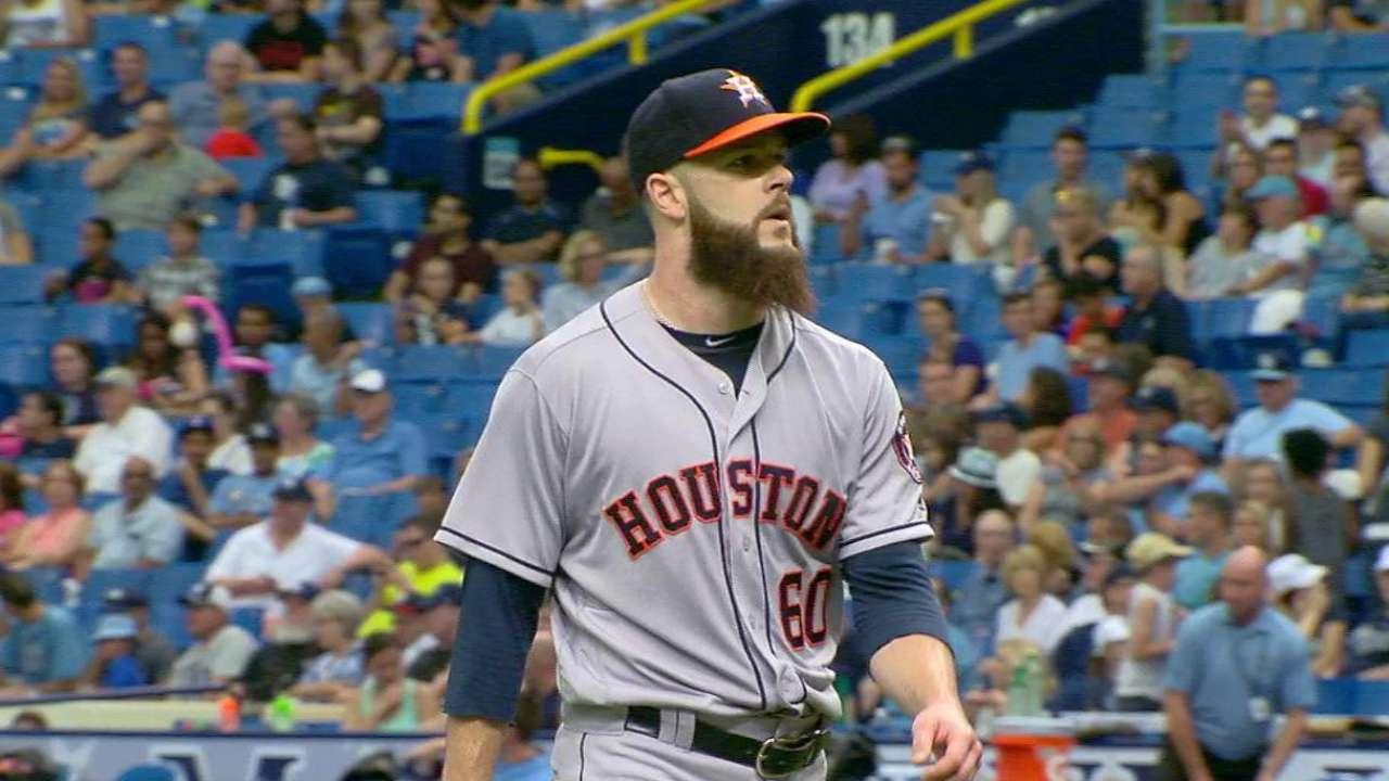 Keuchel, Astros lament fifth-inning woes