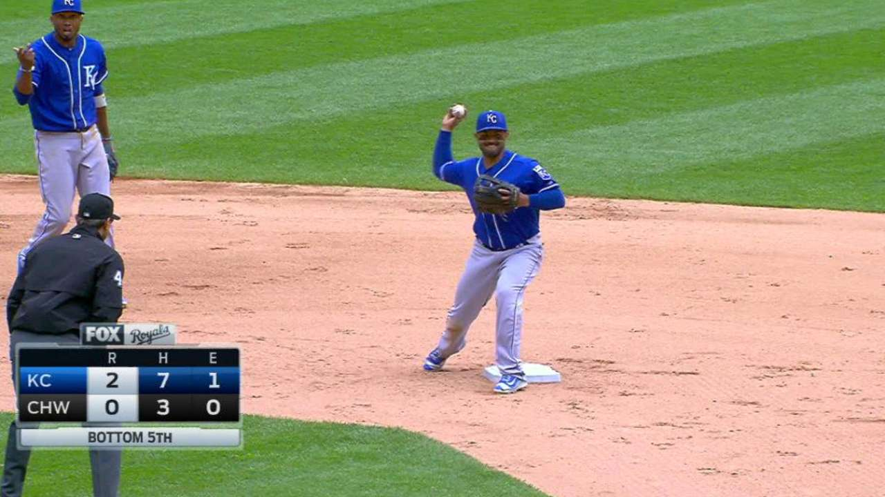 Anderson's great grounder