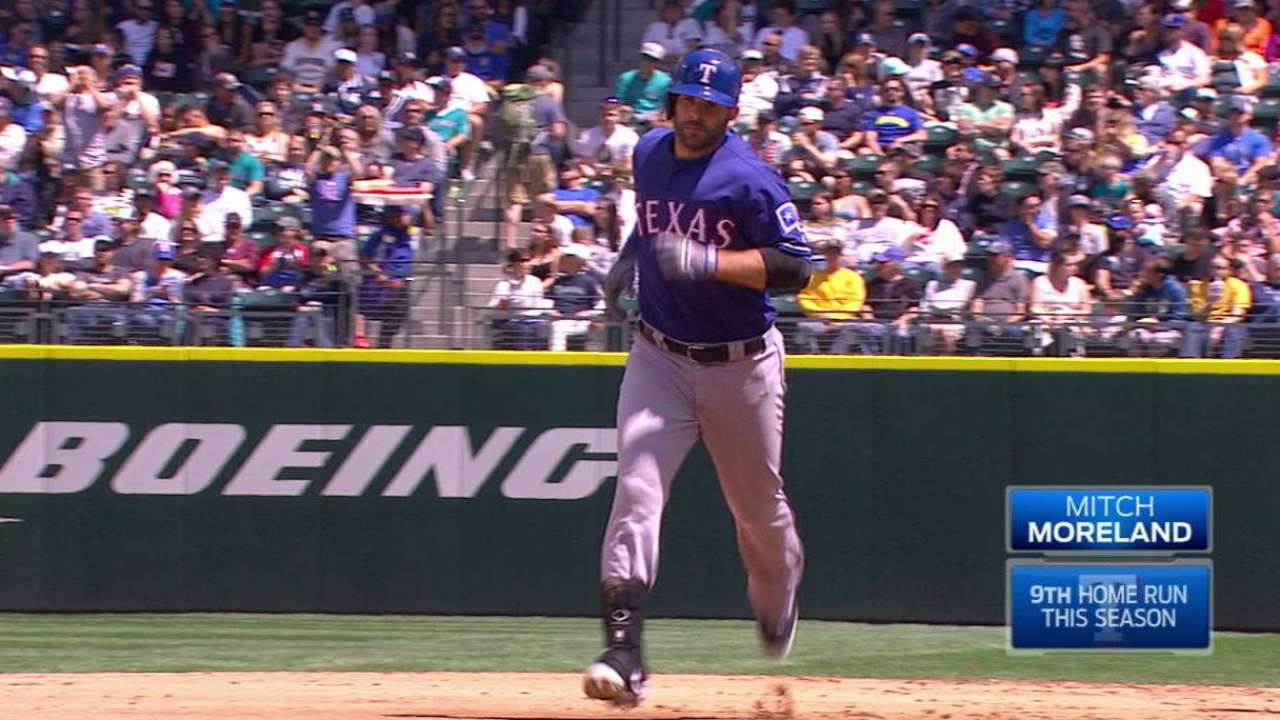 Moreland's two-run home run