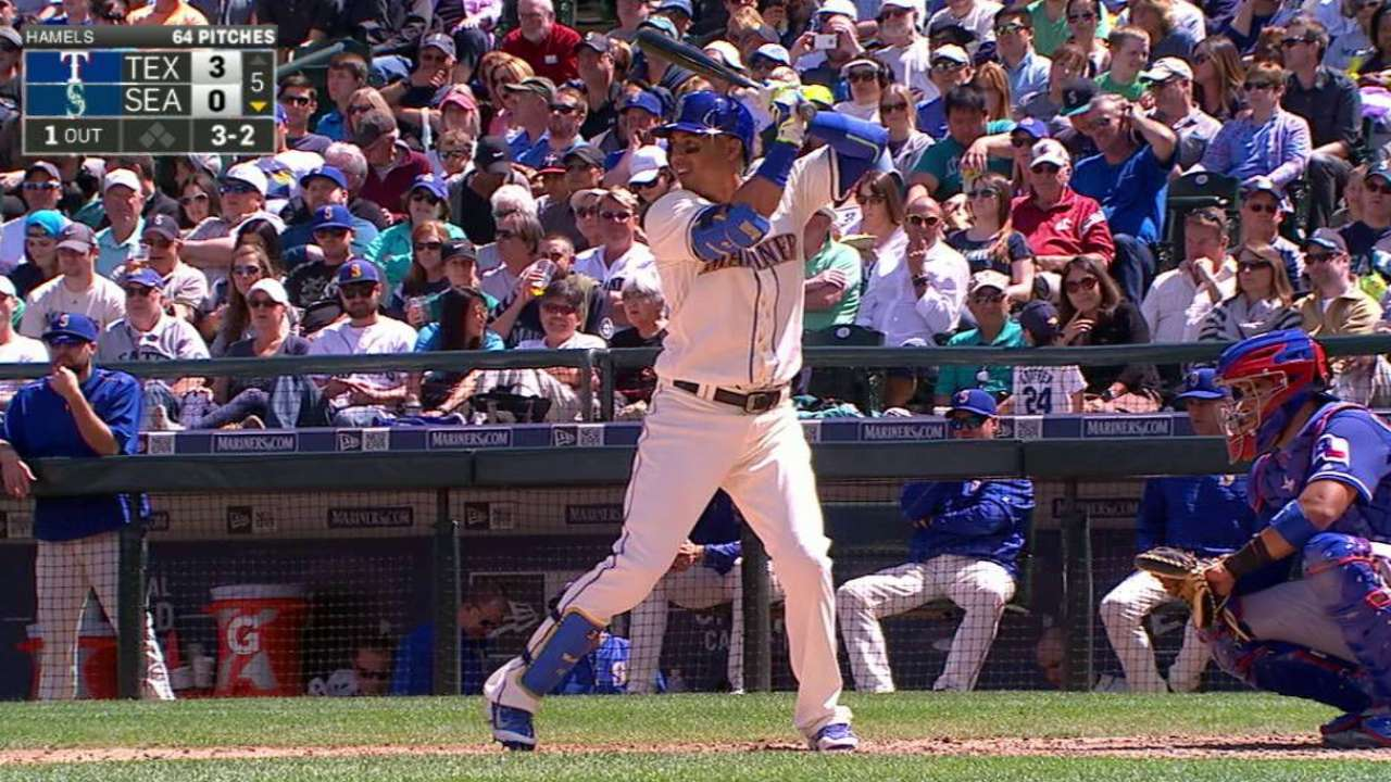 Martin's solo home run